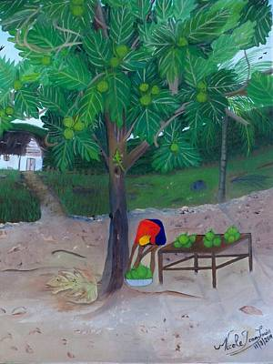 Painting - Breadfruit by Nicole Jean-Louis