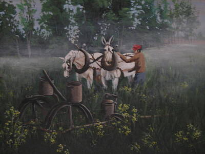 Painting - Break Of Dawn by Barbara Prestridge