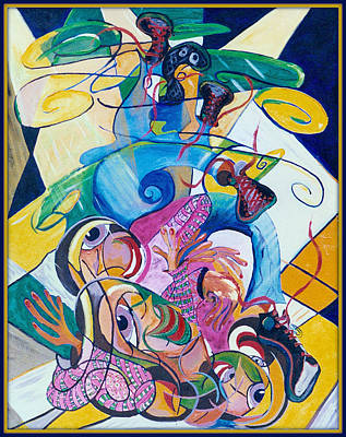 Painting - Breakdancer by James Lanigan Thompson MFA