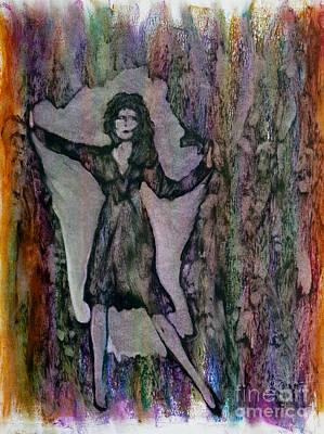 Liberation Painting - Breakout by Linda May Jones