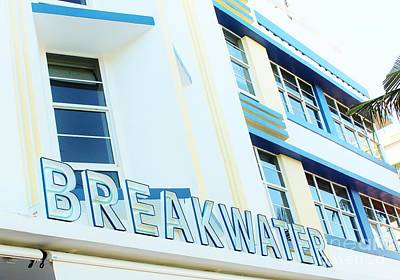 Photograph - Breakwater Hotel South Beach by Rene Triay Photography