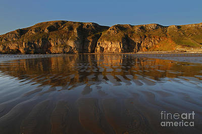 Brean Down Reflection Art Print by Urban Shooters