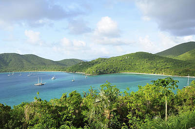 Y120907 Photograph - Breath-taking View Of Maho Bay, St John by Driendl Group