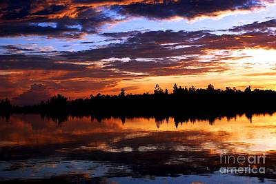 Breathtaking Sunset Art Print by Luis and Paula Lopez