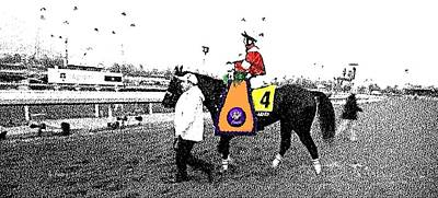 Photograph - Breeders Cup Winner Fort Larned by George Pedro