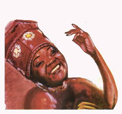 Brenda Fassie Art Print