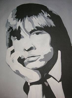 Painting - Brian Jones by Rock Rivard
