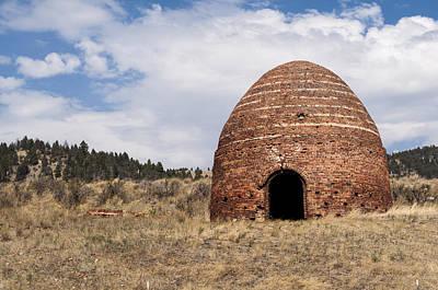 Daysray Photograph - Brick Beehive Kiln by Fran Riley
