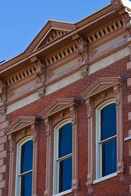 Photograph - Brick Facade In Clarksville Tn by Ed Gleichman