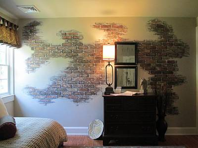 Painting - Brick Mural by Andrew Hench