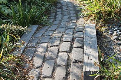 Photograph - Brick Walkway In Seattle by Pamela Walrath
