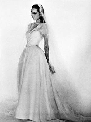 Photograph - Bridal Gown, 1947 by Granger