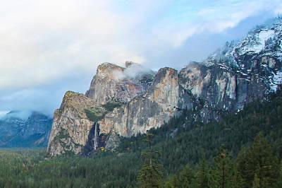 Photograph - Bridalveil Falls In Yosemite by Heidi Smith