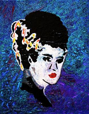 Painting - Bride Of Frankenstein by April Harker