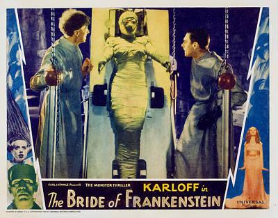 Horror Movies Photograph - Bride Of Frankenstein, Ernest by Everett