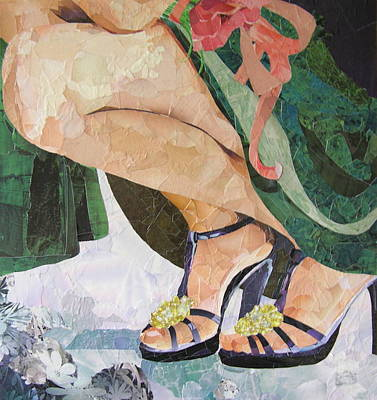 Mixed Media - Bridesmaid by Robin Birrell
