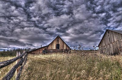 Photograph - Bridesville Barns by Sandra Sigfusson