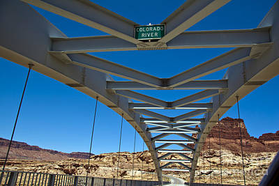 Slickrock Photograph - Bridge Across Colorado by Scotts Scapes