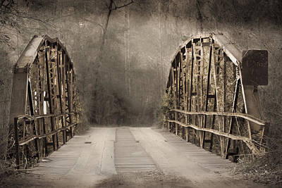 Photograph - Bridge After Lightroom by Kim Henderson