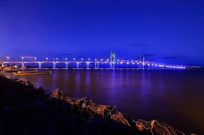 Y120907 Photograph - Bridge Aracaju-bar by Ricardo Torres