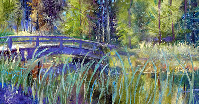 Painting - Bridge At Habersham by Gertrude Palmer