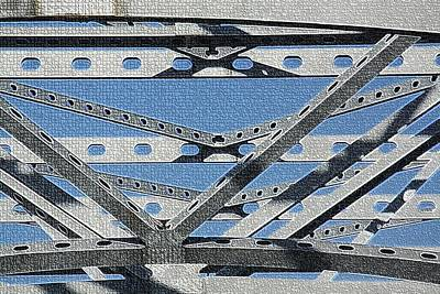 Photograph - Bridge Beams by Donna G Smith