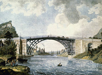 Coalbrookdale Photograph - Bridge by Granger