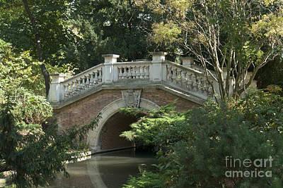 Photograph - Bridge In The Park II by Fabrizio Ruggeri