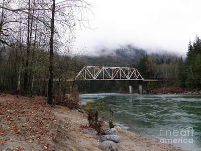 Bridge In Washington State Art Print by Tanya  Searcy
