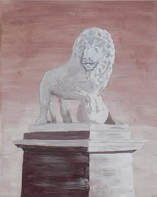 Of St. Augustine Painting - Bridge Of Lions - Panel 3 by Kelvin Kelley