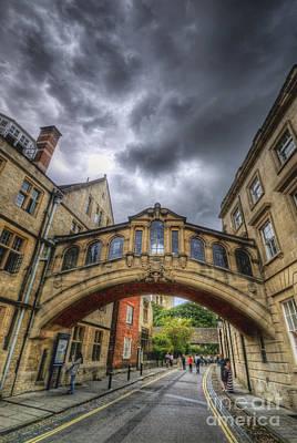 Photograph - Bridge Of Sighs - Oxford by Yhun Suarez
