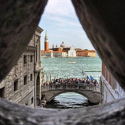 Still Life Wall Art - Photograph - Bridge Of Sighs by Chi ha paura del buio NextSolarStorm Project