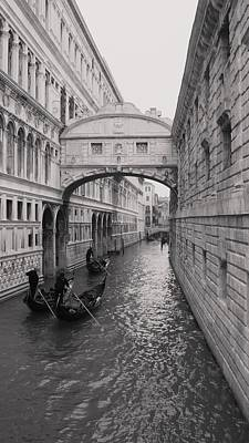 Photograph - Bridge Of Sighs by Luis and Paula Lopez