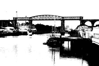 Art Print featuring the photograph Bridge On The Boyne by Charlie and Norma Brock