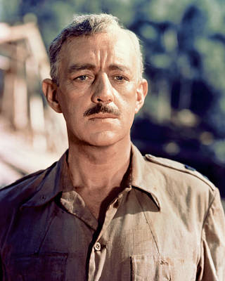 1957 Movies Photograph - Bridge On The River Kwai, Alec by Everett