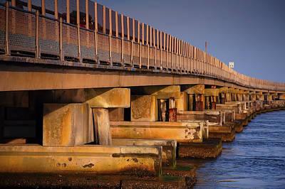 Bridge Over Oregon Inlet Art Print