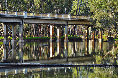 Photograph - Bridge Over Ovens River 2 by Kaye Menner