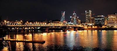 Photograph - Bridge Over Portland by Athena Mckinzie