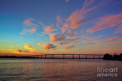 Bridge Over The Patuxent Art Print by Susan Isakson