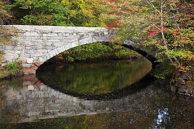 Bridge Reflections Art Print by Jenna Szerlag
