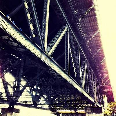 Steel Photograph - #bridge #road #architecture #steel by Glen Offereins