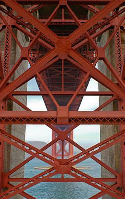 Jake Johnson Photograph - Bridge Symmetrics by Jake Johnson