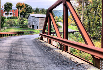 Photograph - Bridge To A Simpler Time by JC Findley