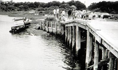Ted Kennedy Photograph - Bridge To Chappaquiddick Island That by Everett