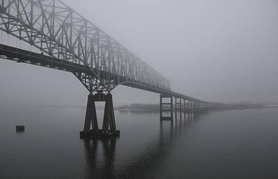 Bridge To Nowhere Art Print by Shelley Neff