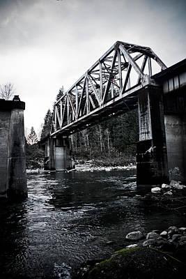 Bridge To Nowhere Art Print by Warren Marshall