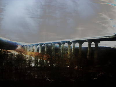 Bridge To The Past Art Print by Rosvin Des Bouillons