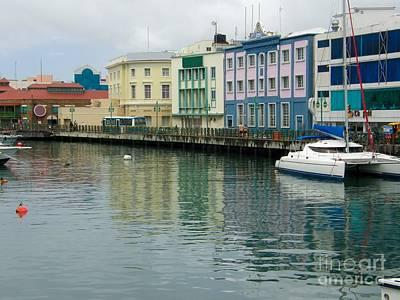 Bridgetown Photograph - Bridgetown Harbor by Sophie Vigneault