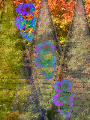 Wall Art - Photograph - Bridging The Flowers by Lori Kirstein