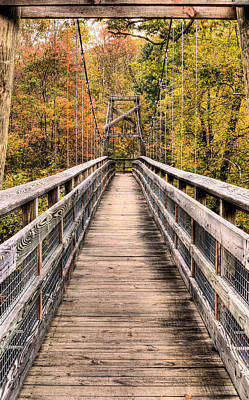Photograph - Bridging The Seasons by JC Findley